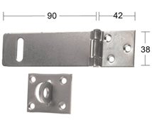 HABO Hasp 1365 90mm galv