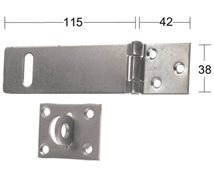 HABO Hasp 1365 115mm galv